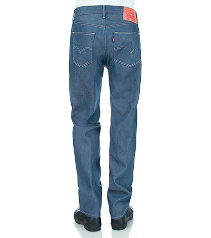 LEVIS MENS 501 ORIGINAL FIT SHRINK TO FIT JEAN Blue