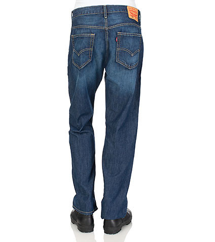 LEVIS MENS 569 CORE LOOSE STRAIGHT FIT JEAN Blue