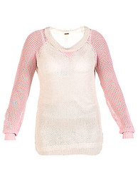 ESSENTIALS RAGLAN SWEATER TRIANGLE NECK