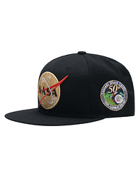 FIELD GRADE NASA 50TH FRONT  SNAPBACK