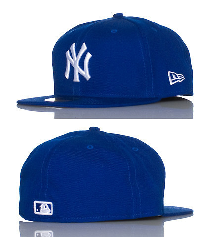 NEW ERA MENS NEW YORK YANKEES MLB FITTED CAP Royal