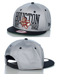 NEW ERA HOUSTON ASTROS MLN SNAPBACK CAP