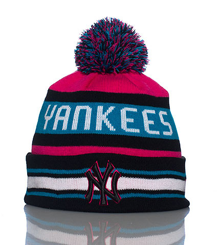 NEW ERA MENS NEW YORK YANKEES KNIT HAT Multi-Color