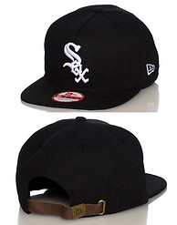 NEW ERA CHICAGO WHITE SOX UNDER SCAPE STRAPBACK