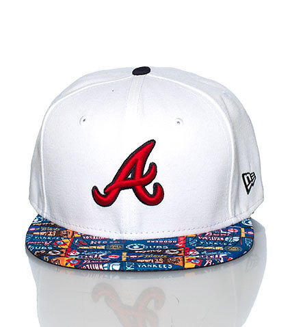 NEW ERA - Caps Fitted - PENNANT ATLANTA BRAVES FITTED CAP