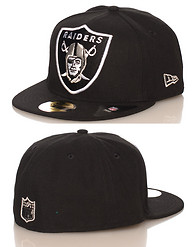 NEW ERA OAKLAND RAIDERS NFL FITTED CAP