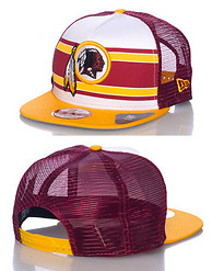 NEW ERA WASHINGTON REDSKINS NFL SNAPBACK CAP