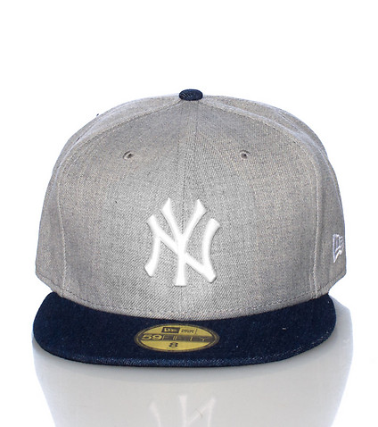 NEW ERA - Caps Fitted - TOPPED UP DENIM NY YANKEES FITTED CAP