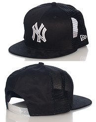 NEW ERA TRUCKER NY YANKEES MLB SNAPBACK CAP