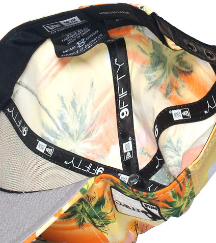 NEW ERA - Caps Snapback - MIAMI HEAT NBA FLORAL STRAPBACK CAP