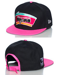 NEW ERA SAN ANTONIO SPURS 3M NBA STRAPBACK CAP