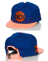 NEW ERA NEW YORK KNICKS 3M NBA STRAPBACK CAP