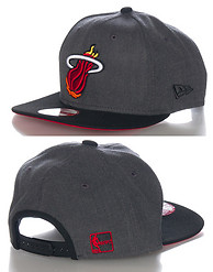 NEW ERA MIAMI HEAT NBA SNAPBACK CAP