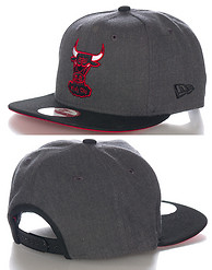 NEW ERA 2T ACTION CHICAGO BULLS NBA SNAPBACK CAP