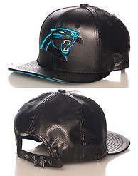 NEW ERA CAROLINA PANTHERS PU NFL STRAPBACK CAP