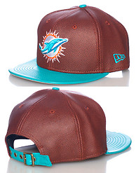 NEW ERA DOLPHINS NFL STRAPBACK CAP JJ EXCLUSIVE