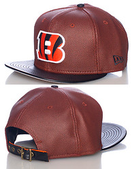 NEW ERA BENGALS NFL STRAPBACK CAP JJ EXCLUSIVE