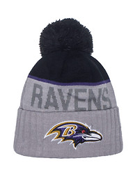 NEW ERA BALTIMORE RAVENS NFL KNIT BEANIE