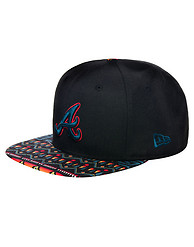 NEW ERA ATLANTA BRAVES MLB TRIBAL STRAPBACK CAP