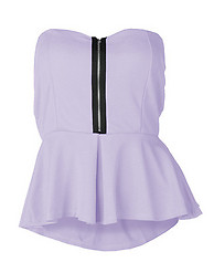 ESSENTIALS PEPLUM TOP