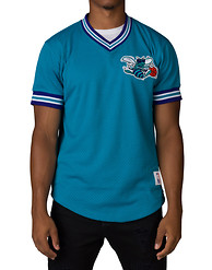 MITCHELL AND NESS CHARLOTTE HORNETS MESH VNCK