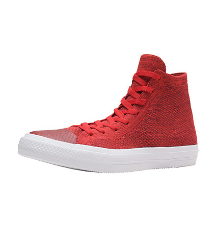 CONVERSE MENS Chuck Taylor All Star Flyknit Red