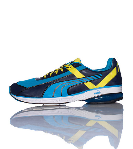 PUMA MENS CELL KOU V2 SNEAKER Blue
