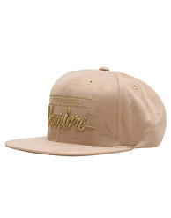 MITCHELL AND NESS Golden State Warriors Suede Snapback