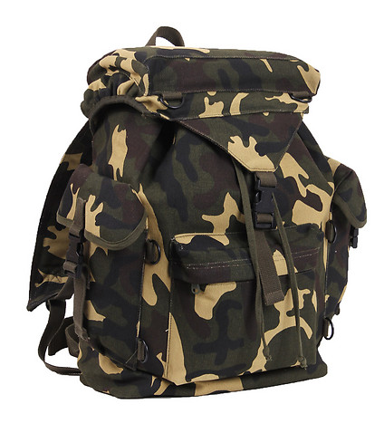 ROTHCO - Backpacks and Bags - CAMOUFLAGE OUTDOOR RUCKSACK