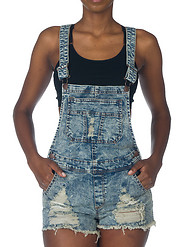 ESSENTIALS RIPPED ACID SHORTALL