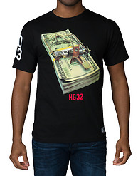 HUSTLE GANG TRAP STACK TEE