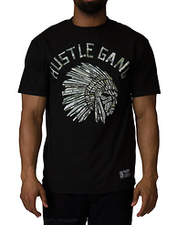 HUSTLE GANG PAPERCUT TEE