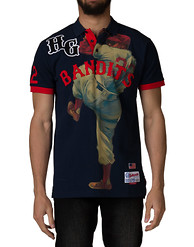 HUSTLE GANG Bandit Polo