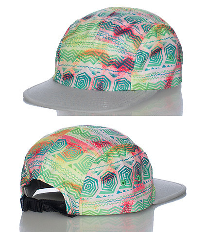 CHUCK MENS CAMPER STRAPBACK CAP Multi-Color