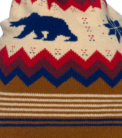 CHUCK - Seasonal - BEAR ISLE KNIT HAT