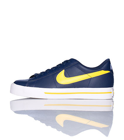 NIKE MENS SWEET CLASSIC LEATHER SNEAKER Navy