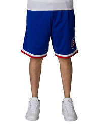 MITCHELL AND NESS Chicago Cubs Playoff Win Shorts