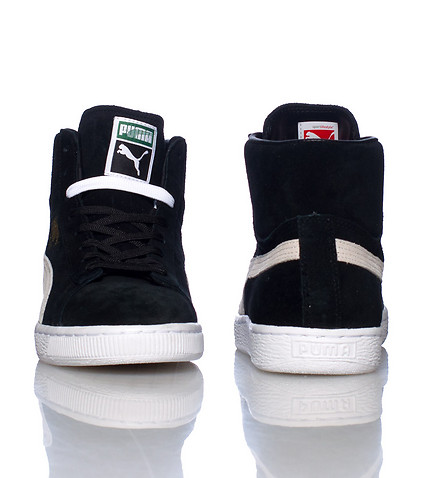 PUMA - Sneakers - SUEDE MID CLASSIC SNEAKER