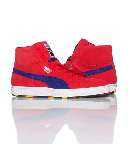 PUMA - Sneakers - SUEDE MID CLASSIC+ RUBBERMIX SNEAKER