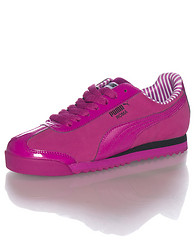PUMA ROMA NBK PATENT LEATHER SNEAKER