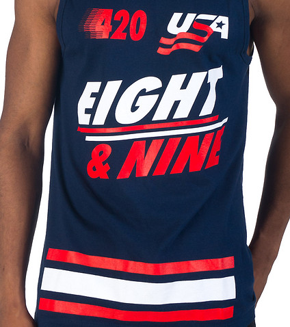 8  &  9 MFG - Tank Tops - 420 USA TANK TOP