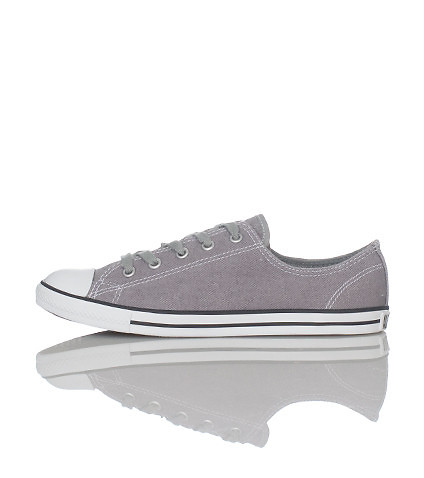 CONVERSE WOMENS ALL STAR DAINTY SNEAKER Grey