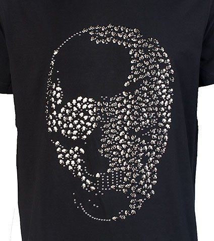 HUDSON OUTERWEAR - Tees and Polos - STUDDED SKULLS TEE