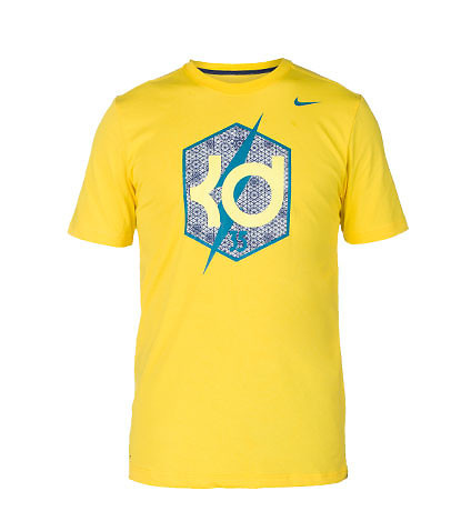 NIKE MENS KD CREST TEE Yellow
