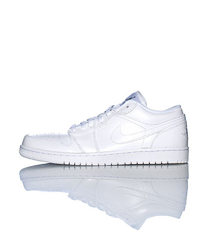 JORDAN MENS 1 LOW SNEAKER White