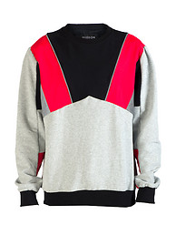HUDSON OUTERWEAR REFLECTIVE FLEECE CREWNECK SWEATSHIRT