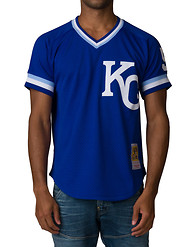 MITCHELL AND NESS Kansas City Royals Jersey