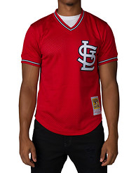 MITCHELL AND NESS ST LOUIS CARDINALS 1996 OZZIE SMITH NO 1