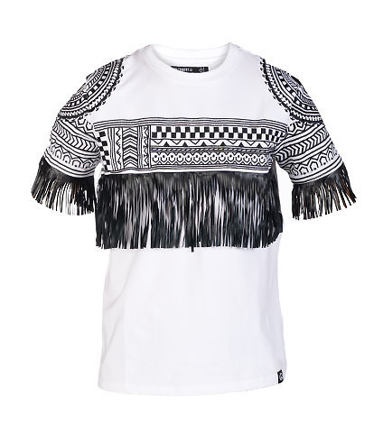 HUDSON OUTERWEAR - Tees and Polos - TRIBE FRINGE TEE