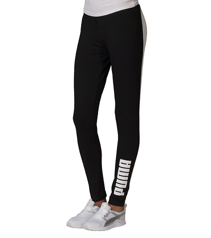 PUMA WOMENS T7 LEGGING Black
